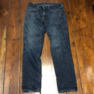 Classic Levi's 511 jeans - great, worn-in 31x21
